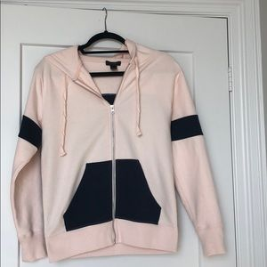 JCrew zip up sweatshirt